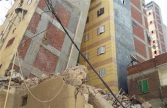 """رئيس حي دار السلام يرد على ما نشرته """"بوابة الأهرام"""" عن خطورة عقار يهدد 11 أسرة بشارع عاشور"""