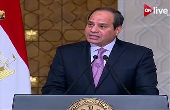 السيسي: عقد الجنة العليا المشتركة المصرية السودانية بقيادة رئيسي البلدين خلال العام الجاري بالخرطوم