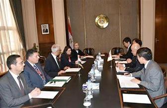 حمدي لوزا يستقبل نائب الوزير البرلماني للشئون الخارجية الياباني |صور