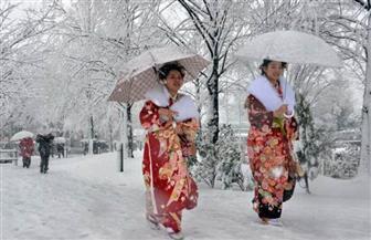 عاصفة ثلجية تضرب شمال اليابان