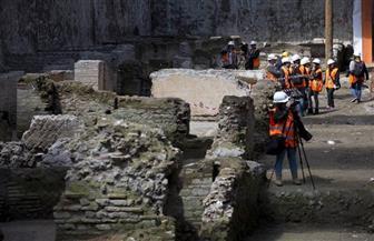 أعمال حفر خط مترو روما الجديد تكشف عن كنز أثري