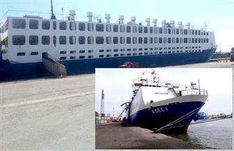 ميناء غرب بورسعيد يستقبل 2500 رأس ماشية