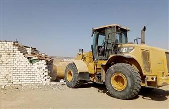 إزالة التعديات عن حوض الـ5 آلاف ببحيرة مريوط بالإسكندرية