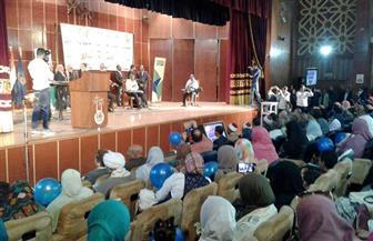 محافظ أسوان يكرم الأمهات المثاليات وأمهات شهداء الشرطة والجيش | صور