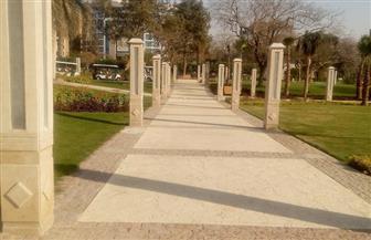 رئيس حى مصر الجديدة يشكر وزارة الدفاع لحل مشكلات تطوير حديقة الميرلاند | صور