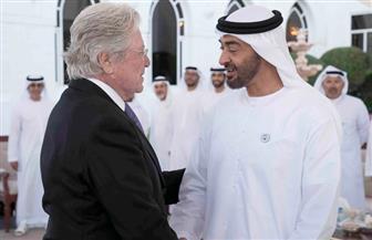 حسين فهمي يشكر بن زايد محمد بن زايد على دعم الألعاب الإقليمية للأوليمبياد الخاص