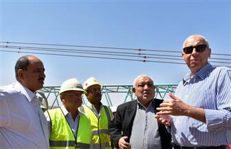 محافظ أسوان يتفقد مشروع إنشاء مجمع كيما 2 للأسمدة بتكلفة 11 مليار جنيه | صور