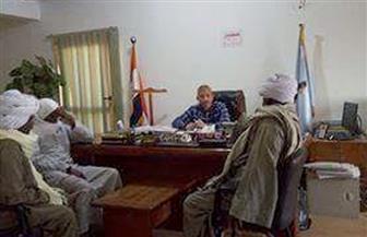 رئيس مدينة القصير يطالب أهالي الشيخ مالك النزول للانتخابات الرئاسية والإدلاء بأصواتهم | صور