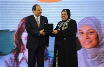 تفاصيل احتفال الأم المثالية بمشاركة الرئيس السيسي | صور