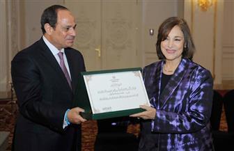 """نادية رشاد لـ""""بوابة الأهرام"""": النهادرة أسعد أيام حياتي.. وتحدثت مع الرئيس في هذا الأمر"""