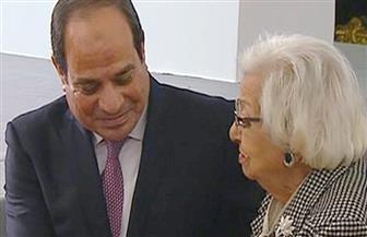 ناظرة الوزراء الثلاثة: الرئيس السيسي أب روحي لكل المصريين