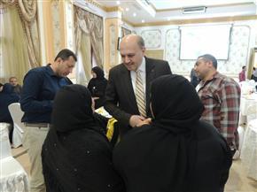 في يوم عيد الأم.. مديرية أمن الشرقية تحتفل بأمهات وزوجات الشهداء | صور