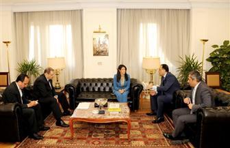 وزيرا الإسكان والسياحة يناقشان مشروعات استراتيجية تنمية سيناء