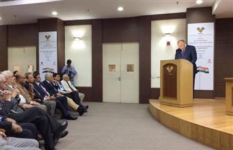 وزير الخارجية يستعرض رؤية السياسة الخارجية المصرية أمام مركز أبحاث الحزب الحاكم بالهند   صور