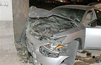 اصطدام سيارة بـ 3 أشخاص أثناء جلوسهم على مقهى بالهرم