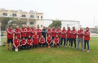 """""""بوابة الأهرام"""" تحاور هبة الله أحمد أول حكم تدير مباراة رجالي للناشئين في الصعيد  فيديو"""