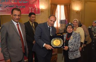 محافظ الإسكندرية يكرم 37 من الأمهات المثاليات على مستوى المحافظة | صور