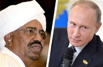 البشير يبحث مع بوتين تطوير العلاقات الثنائية للمستوى الإستراتيجي ويدعوه لزيارة الخرطوم