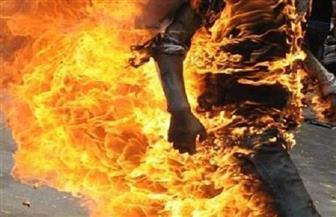 عامل يشعل النيران في والده وشقته بالفيوم