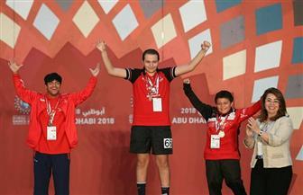 غادة والي تهنئ أبطال الأولمبياد الخاص بعد فوزهم بـ 96 ميدالية |  صور