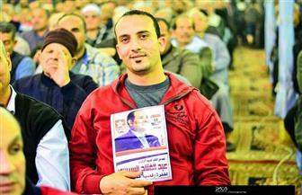 شباب السنطة بالغربية يعلنون تأييدهم السيسي: طابور الانتخابات أشرف من طابور اللاجئين  صور