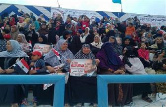 مؤتمر لدعم الرئيس السيسي بمطروح | صور