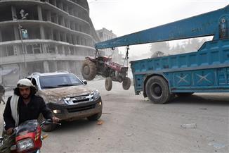 مصدر أمني سوري: مغادرة 1156 من مسلحي القلمون الشرقي وعائلاتهم إلى عفرين