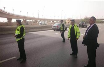 مدير المرور يتابع خدمات الطرق السريعة وحملات الرادار| صور