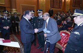 وزير الداخلية يكرم عددا من المتميزين والمساهمين في عملية سيناء الشاملة| صور