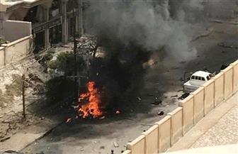 محافظ الإسكندرية يتفقد موقع حادث تفجير المعسكر الروماني