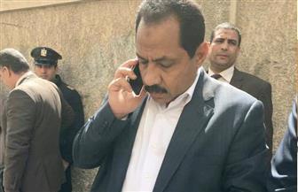 ننشر أول صورة لمدير أمن الإسكندرية بعد حادث استهداف موكبه
