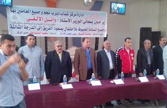 مركز شباب ديرب نجم يحتفل بصعود الفريق للدرجة الثالثة | صور