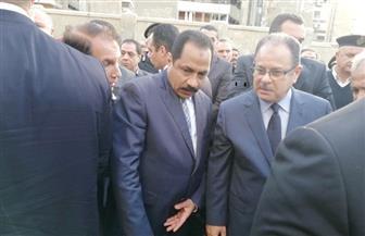 وزير الداخلية يتفقد موقع حادث انفجار الإسكندرية.. ويزور المصابين بالمستشفى