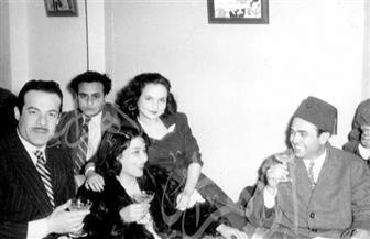 صور نادرة تروي قصة حب محمود ذو الفقار وزوجته عزيزة أمير تعود لعام 1937