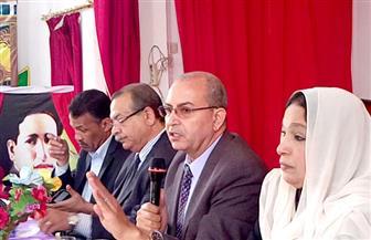 وكيل وزارة التعليم ببورسعيد يطالب بضرورة حث المواطنين على المشاركة بالانتخابات الرئاسية