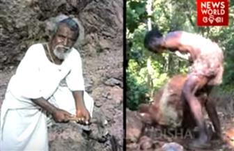 أب يشق بمفرده طريقا جبليا طوله 8 كم ليزوره أبناؤه | فيديو