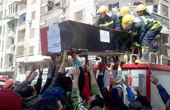 تشييع جثمانى شهيدى استهداف موكب مدير أمن الإسكندرية في جنازة عسكرية