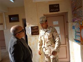 رئيس مدينة السنطة يراجع تجهيز المقار الانتخابية وأعمال الرصف   صور