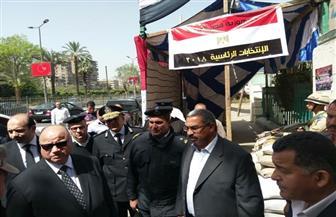 مدير أمن القاهرة يتفقد الخدمات الأمنية بمحيط اللجان الانتخابية | صور