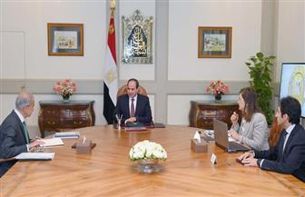 الرئيس السيسي يستعرض المؤشرات الاقتصادية والاجتماعية.. ويؤكد أهمية الاستفادة من أكاديمية تدريب الشباب