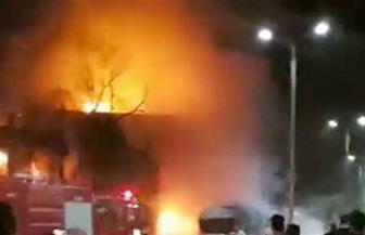 إصابة 4 أشخاص نتيجة تسرب غاز واحتراق عربة لبيع المأكولات بالإسكندرية