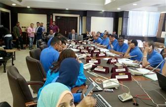 """""""بوابة الأهرام"""" تتابع العملية الانتخابية من داخل غرفة عمليات محافظة البحر الأحمر   صور"""