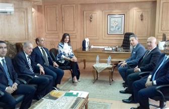 """وزيرة الهجرة تعقد اجتماعا مع رؤساء البنوك الوطنية لبحث آليات طرح شهادة """"أمان"""" للمصريين بالخارج"""