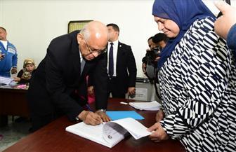 رئيس مجلس النواب يدلي بصوته في مدينة نصر: كثافة مشاركة المصريين رسالة للعالم