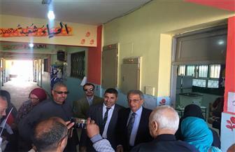 عمرو موسى يدلي بصوته في الانتخابات الرئاسية بالتجمع الخامس