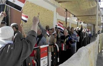 رئيس حي الهرم  يتفقد عددا من اللجان الانتخابية