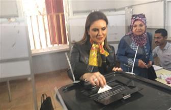 سحر نصر: انتخابات الرئاسة رسالة للعالم بأن الشعب المصري يد واحدة | صور