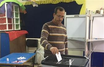 انتظام العملية الانتخابية في لجان حلوان و المعصرة وطرة والمعادي