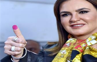 وزيرة الاستثمار: المصريون أثبتوا اليوم أنهم يد واحدة
