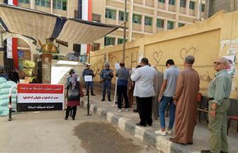 إقبال كثيف على الانتخابات الرئاسية بلجان محافظات كفر الشيخ | صور